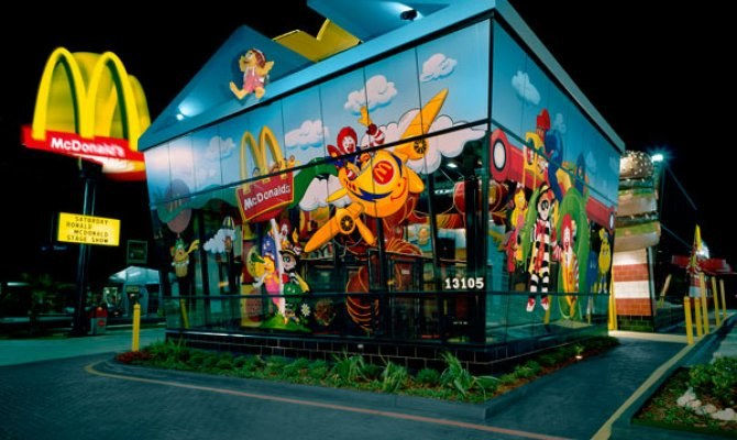 World's Coolest McDonald's