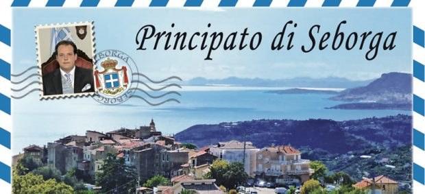 Postcard of Principality of Seborga
